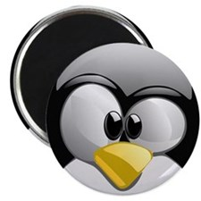Cute Tux penguin Magnet