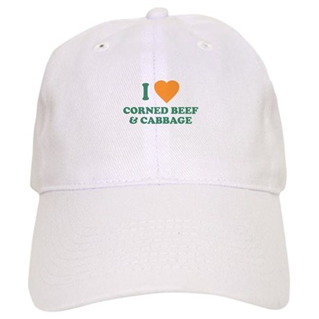 I Love Corned Beef & Cabbage Cap