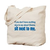 Anti-Obama If You Don't Tote Bag