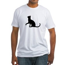 Black Cat Silhouette Shirt