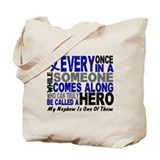 HERO Comes Along 1 Nephew CC Tote Bag