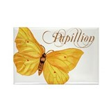 Papillion Rectangle Magnet