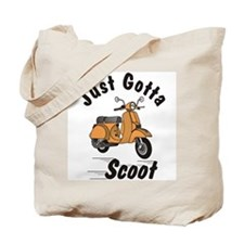 Just Gotta Scoot Orange Tote Bag