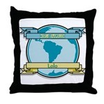 World Champion Lolo Throw Pillow