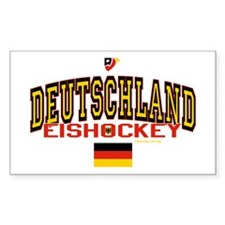 DE Germany Hockey Deutschland Decal