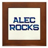 alec rocks Framed Tile