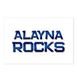 alayna rocks Postcards (Package of 8)