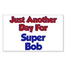 Bob - Another Day Rectangle Decal