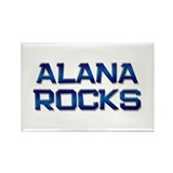 alana rocks Rectangle Magnet