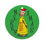 Yellow Kid Christmas Ornament