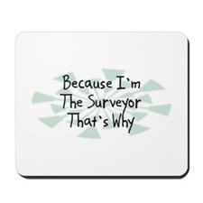 Because Surveyor Mousepad