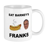 Eat Barney's Franks Small Mug