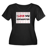 I Love My Copywriter Women's Plus Size Scoop Neck