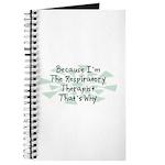Because Respiratory Therapist Journal