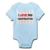 I Love My Contractor Infant Bodysuit