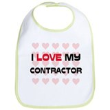 I Love My Contractor Bib