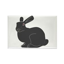 Death Bunny Rectangle Magnet (100 pack)