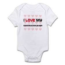 I Love My Construction Buyer Infant Bodysuit