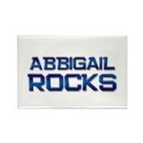 abbigail rocks Rectangle Magnet (10 pack)