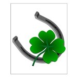 St. Patrick's Lucky Small Poster 4 Leaf LClover