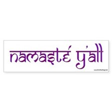Namasté Y'all Bumper Bumper Sticker