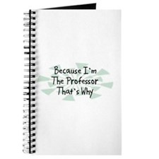 Because Professor Journal
