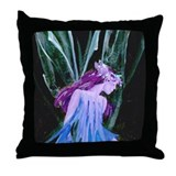 Ice Faerie (Original) Throw Pillow