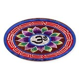 OM Tapestry Oval Decal