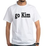 go Kim White T-Shirt