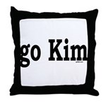 go Kim Throw Pillow