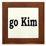 go Kim Framed Tile