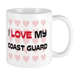 I Love My Coast Guard Mug