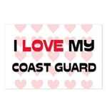 I Love My Coast Guard Postcards (Package of 8)