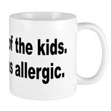 Cat Allergy Kid Humor Mug