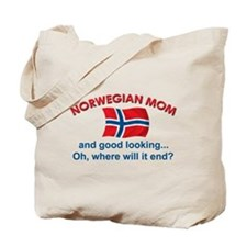 Good Looking Norwegian Mom Tote Bag