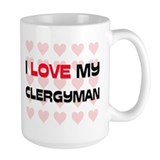 I Love My Clergyman Mug