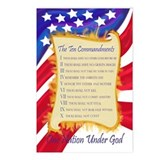 Ten Commandments Postcards (Package of 8)