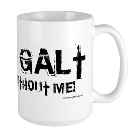 Gone Galt Large Mug