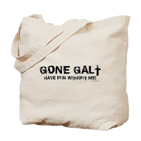 Gone Galt Tote Bag