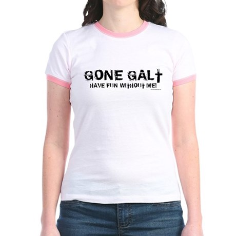 Gone Galt Jr. Ringer T-Shirt