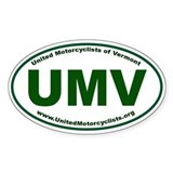 UMV Oval (Euro) Decal