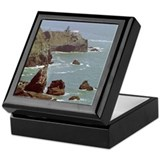 Pt. Bonita Lighthouse Keepsake Box