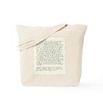 Jane Austen Persuasion Letter Tote bag