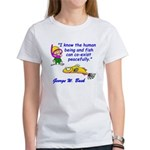 Humans and Fish Women's T-Shirt