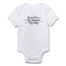 Because Lifeguard Infant Bodysuit