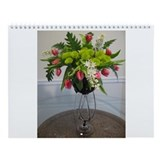 Cute Flower arrangements Wall Calendar