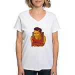 Barack Is My Comrade Women's V-Neck T-Shirt