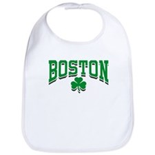 Boston Shamrock Bib