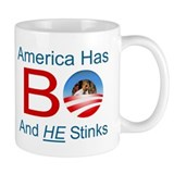 America has a BO problem Coffee Mug