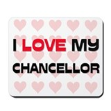 I Love My Chancellor Mousepad